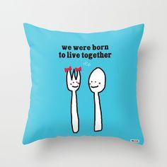 Born to live together cojín / thegretest - Artesanio