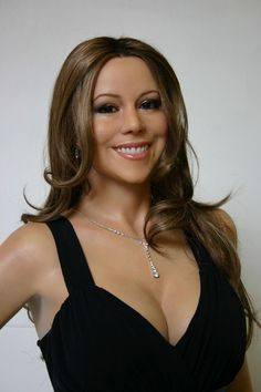 Mariah Carey Wax Figure