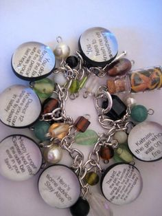 Hunger Games Quote Bracelet. I WANT IT!