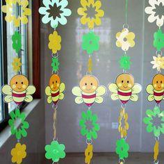 Envío gratis abeja de la historieta lentejuelas decorativas cortina de puerta brillo para salón decoraciones