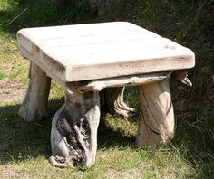 Driftwood Coffee Table, Drift Wood Side Table, Low end table,Garden table £165.00