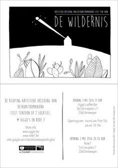 Vanaf morgen stelt de richting Artistieke Opleiding tentoon op 2 locaties!