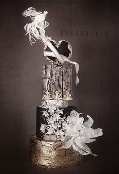30 Ideas For Amazing Wedding Cakes Elegant Wedding Cakes, Elegant Cakes, Beautiful Wedding Cakes, Gorgeous Cakes, Pretty Cakes, Amazing Cakes, Fondant Cakes, Cupcake Cakes, Cupcakes