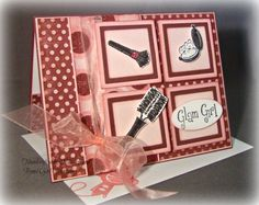 Girly Makeup Any Occasion card