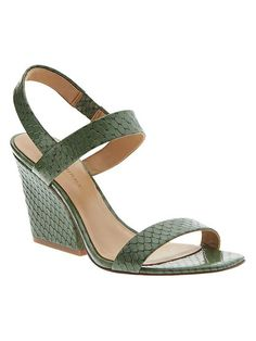 Emilia Heeled Sandal | Banana Republic
