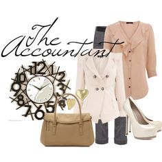 """Career Fashion- The Accountant"" by skybluchik89 on Polyvore"