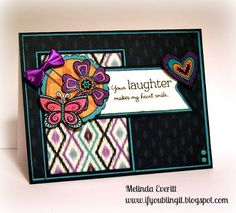 If You Bling It: You Are My Happy - National Stamping Month Blog Hop