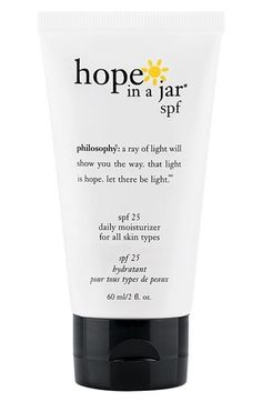 philosophy 'hope in a jar' daily moisturizer spf 25 for all skin types | Nordstrom - StyleSays