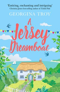 The new cover for A Jersey Dreamboat, being re-launched May 2018.
