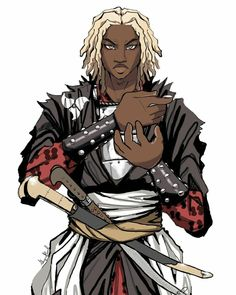 Character Inspiration, Character Art, Character Design, Black Characters, Fictional Characters, Punk Art, Dungeons And Dragons, Like You, Fantasy