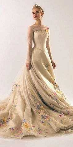 30 Disney Wedding Dresses For Fairy Tale Inspiration Look like a Disney Princess in your main day. We propose you to see Disney wedding dresses which reflect the style and beauty Cinderella, Tiana, Belle. Source by Wedding Dresses Canada, Disney Wedding Dresses, Cinderella Wedding, Cinderella Dresses, Princess Wedding Dresses, Wedding Dress Styles, Dream Wedding Dresses, Disney Dresses, Disney Inspired Dresses