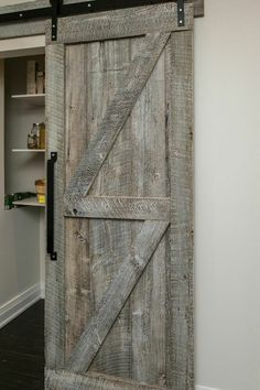 Rebarn, Custom Sliding Barn Door