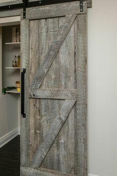 Rebarn, Custom Sliding Barn Door