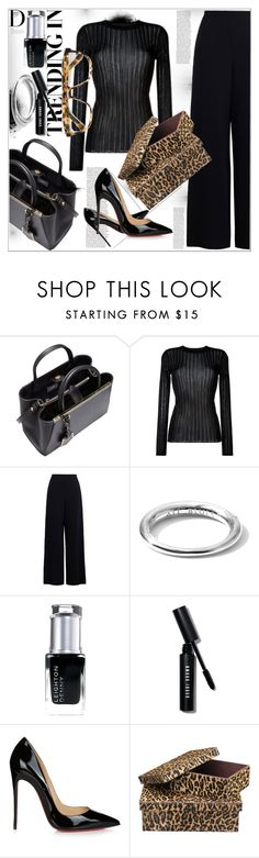 """""""Job Interview ...."""" by dragananovcic ❤ liked on Polyvore featuring BoConcept, Fendi, DKNY, Zimmermann, All Blues, Leighton Denny, Bobbi Brown Cosmetics, Christian Louboutin, Jamie Young and Mykita"""