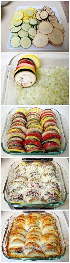 Summer Vegetable Tian ~ My Best Recipes