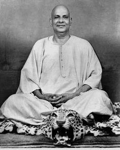 Swami Sivananda Saraswati. Rishikesh.