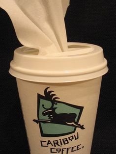 How to Make a To-go Coffee Cup Tissue Pop-up