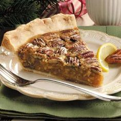 Lemon-Pecan-Pie..so freakin yummy tonight !!! So glad I found the recipe :)