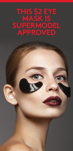 This $2 Eye Mask Is Supermodel Approved | Who says beauty comes at a price?