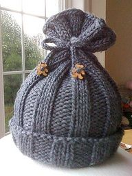 Rib-Knit Baby Hat - Later