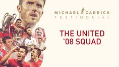 The United '08 side for Michael Carrick's testimonial - that's some line-up! ❤️