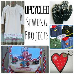 Up-Cycled Sewing Projects
