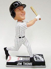 Chicago White Sox Jim Thome Forever Collectibles On Field Bobble Head