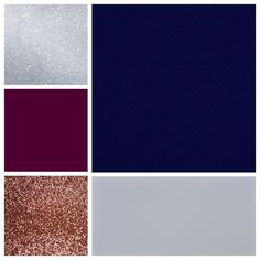 The Perfect Palette: Mauve, Plum, Rose Gold and Navy - Wedding Colors