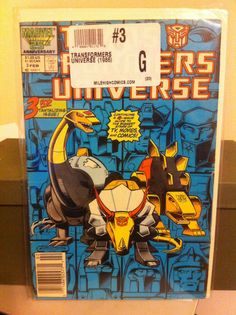 The Transformers Universe #3 (Feb 1987, Marvel) G condition