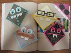 Fun ideas for Corner Bookmarks =)