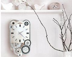Collezione degli #orologi Eclettica di #Cartapietra. bit.ly/1CQdGyk #Orologi #Quadri #Orologio #Casa #Arredo