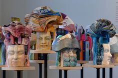 Stunning Sculptures Carved From Books Predict The Death Of Literature