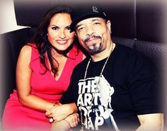 Mariska and Ice T. Best Tv Shows, Favorite Tv Shows, Benson And Stabler, Elite Squad, Love And Co, Ice T, Olivia Benson, Fallen Angels, Criminal Justice System