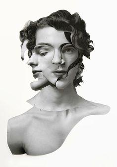 collage self portrait idea../ ERNESTO ARTILLO