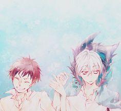Servamp / Kuro And Mahiru / #anime