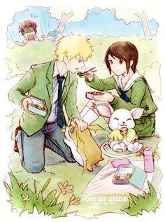 Hikari Yagami & Takeru Takaishi