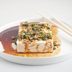 This Recipe Could Woo Even the Tofu-Averse  I warmed the sauce and added sauteed bok choy. Next time would probably only use 3/4 tsp of red pepper flakes.