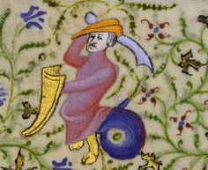 Follower of the Egerton Master French, Paris, about 1410 Tempera colors, gold leaf, and gold paint on parchment