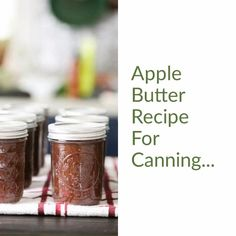 Apple Butter Uses, Apple Butter Canning, Canning Apples, Crockpot Apple Butter, Salsa Canning Recipes, Canning Tips, Crockpot Recipes, Cooking Recipes, Cooked Apples