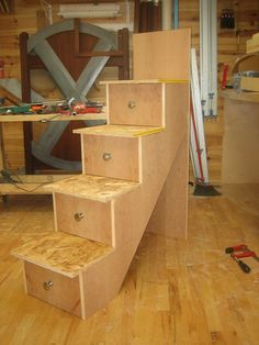 How To Make Drawer Pull Men Bunk Bed 6 Building The Stairs And Staircases With Drawers Loft Loft Bed With Stairs Woodworking Photo Gallery Diy Bunk Bed Bunk Bed Plans Bunk Beds Sturdy Stair And… Loft Bed Stairs, Bunk Beds With Stairs, Bunk Bed Steps, Loft Bed Plans, Murphy Bed Plans, Cool Bunk Beds, Kids Bunk Beds, Loft Beds, Stair Drawers