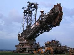 A collectioon of the badest and coolest contruction machineries and heavy equipment that I have found.