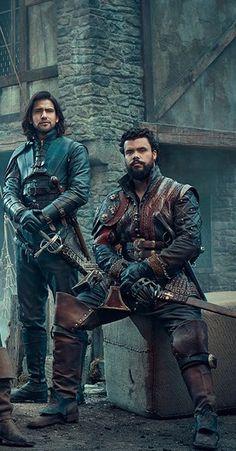 D'Artagnan & Porthos