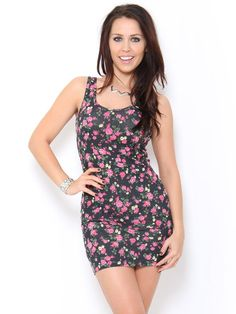 Floral Print Tank Dress | StylesForLess