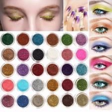 Cosmetic Glitter; can be added to any type of make-up. Available in many colours #MakeupWakeup