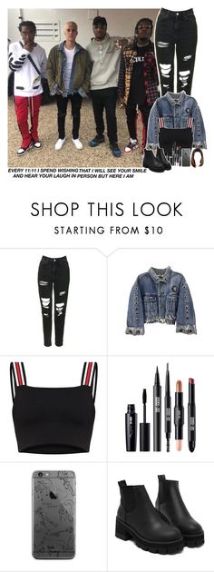 """I'm the one backstage"" by jk-jaylene ❤ liked on Polyvore featuring GET LOST and Topshop"