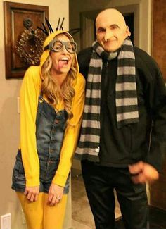 Halloween Costume inspiration! I just love this and Justin love despicable me!