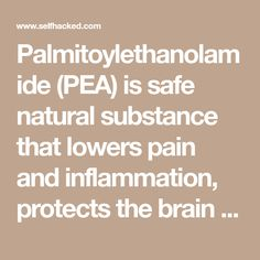 Palmitoylethanolamide (PEA) is safe natural substance that lowers pain and inflammation, protects the brain and heart, and boosts your endocannabinoids. Its benefits are encouraging for a wide range of difficult-to-treat disorders. Brain And Heart, Dog Itching, Disorders, Health Benefits, Encouragement, Range, Treats, Natural, Sweet Like Candy