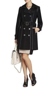 02dbdf81a82 Long black coat Winter Fashion Casual