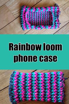 Rainbow loom phone case