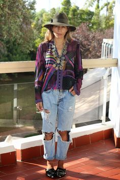 Statement necklace bakchic morocco fashion blog